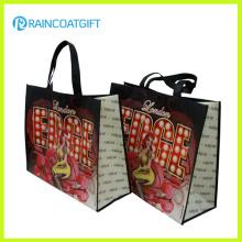 Rbc-143 fourre-tout réutilisable Lmaninated sac à provisions non tissé