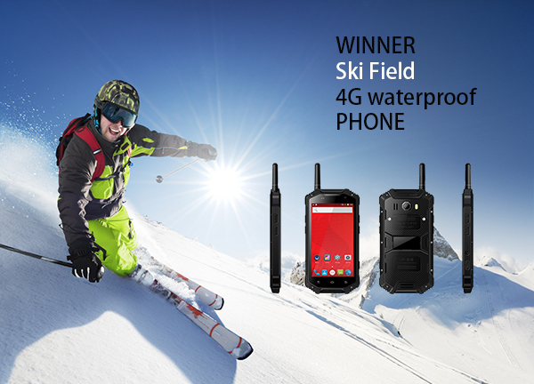 Ski Field 4G waterproof  PHONE