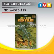 Novo modelo de design! TPR soft animal lizard com todos os testes de relatório