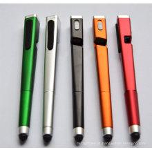 A Stylus Touch Pen Itl4010 com um LED e suporte para celular