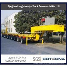 100-200 тонн тяжелых долг Модульный гидравлический полуприцеп