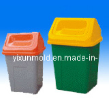 Trash Can Plastic Mold, Injection Plastic Mould