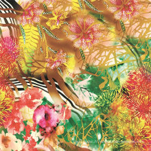 Impression numérique de textile sur des tissus en soie (TLD-0088)