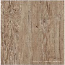 Plancher de bois de construction en vinyle