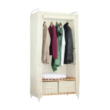 Wardrobe Storage Organizer With Shelves With 110g Non-woven