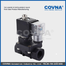 Amplamente utilizado na válvula industrial do PVC do solenóide do PVC