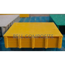 Parrillas cubiertas de fibra de vidrio FRP / GRP Bell