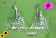 Leisure and Simple, Clear PVC Beach Tote Bag with Shoulder Strap
