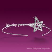 Bandeau étoile blanche pour femmes