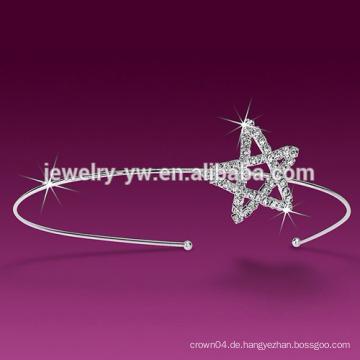 Weißer Stern Stirnband für Frauen