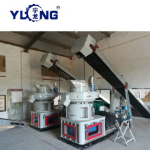 Low Adhesion (CE) Bamboo Pellet Machine