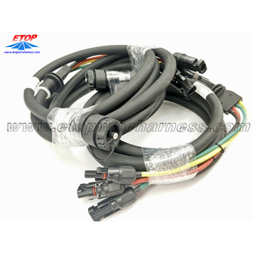 Conjunto de cable de panel solar MC14