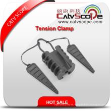 Abrazadera de crimpado de cable óptico de plástico duradero de alta calidad