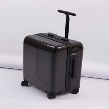 factory custom luxury grade carbon fiber suitcase