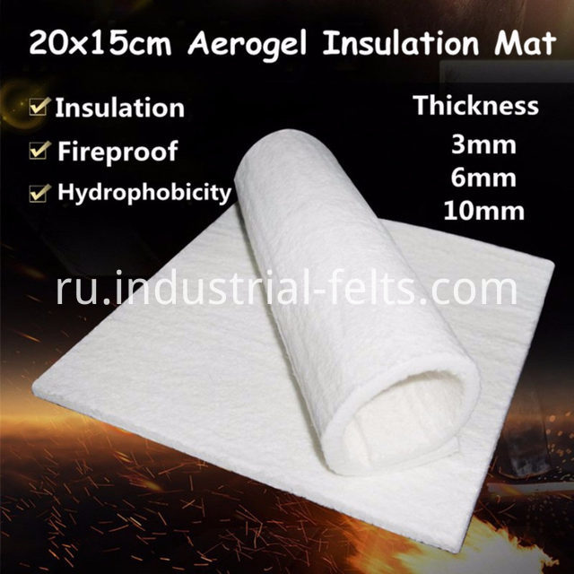 Cryogel Aerogel pipe insulation products Material