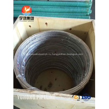 Катушка нержавеющей стали трубы ASTM A269 08Х20Н14С2