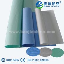 papel crepé para esterilización