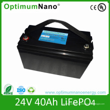 Batterie 24V40ah LiFePO4 pour les véhicules à basse vitesse
