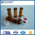 flacons en verre à base de borosilicate ambré flacon gc 1.8 ml