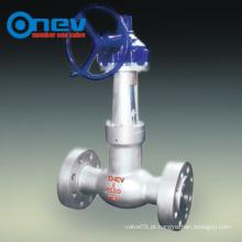 Válvula de globo de vedação de pressão reta de classe 2500 API (J541Y)