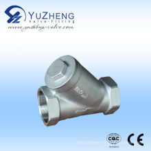 Stainless Steel Threaded BSPT Strainer