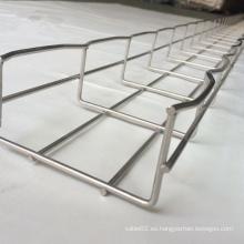 Bandeja de cable de malla de alambre de acero galvanizado