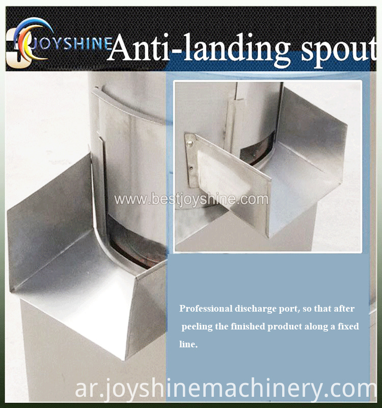 potato washing and peeling machine (1)