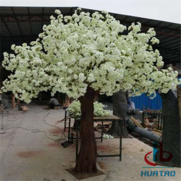 PE Artificial Flower Tree