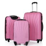 Hot sale ABS luggage with trolley