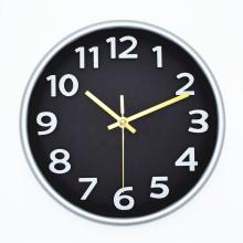 2021 Reloj de Pared Plastic 3D big numbers home decoration Wall Clock
