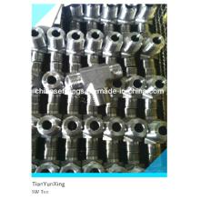 Acessórios de anel de corte T de solda de soquete de aço inoxidável