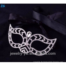 Schöne Mode Rhinestone Maskerade Masken, billige Party Masken