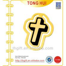 Церковный крест формы металлических закладок / золотых металлических закладок для книг