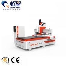 Máquina de grabado CNC de puerta de madera