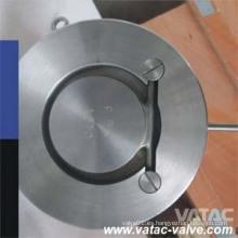 Válvula de retención de obleas de una sola hoja de acero fundido