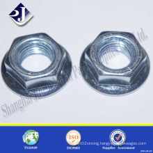 Grade 5 Zinc Finished Hex Flange Nut