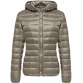 Long Ladies Warm Duck Parka Women Down Jacket