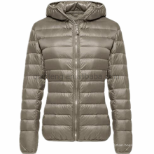 Long Ladies Warm Duck Parka Women Down Jacket