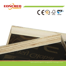 Phenolic Dynea Brown Black18mm Film Faced Marine Plywood for Concrete Formwork Shuttering