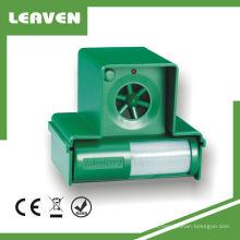 Repelente ultrasónico del animal del jardín de la operación de la batería 9V