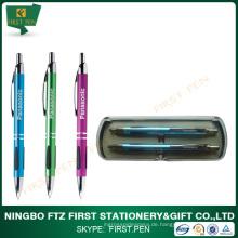 Mode-Design Metall Briefpapier Gel Stift