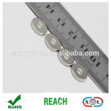 высокий стандарт nickle покрытие неодимия кольца ювелирные изделия
