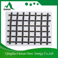 High Tensile Strength Polyester Basalt Triaxial Biaxial Fiber Geogrid for Reinforcement