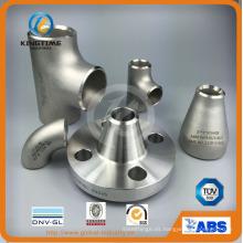 Te igual con el Ce (KT0365) de tubería sin costura acero inoxidable