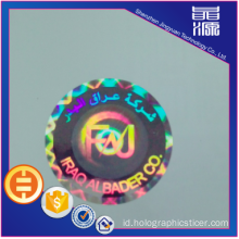 Tampan Laser 3D Hologram Label Sticker