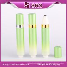 SRS airless 10ml rollo de prensa inferior sobre botella