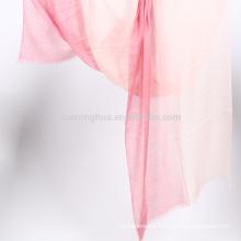 chal de ombre de lana de Cachemira puro