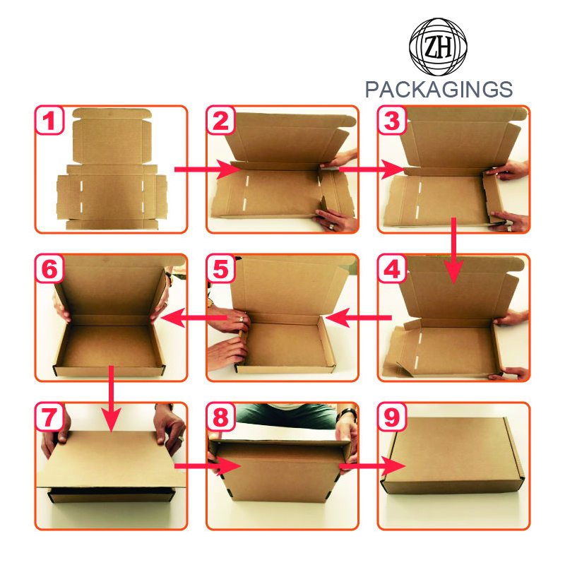 Carton Box with Customized Logo