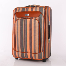 "two wheels cheap stripe pattern trolley 24"" bags"