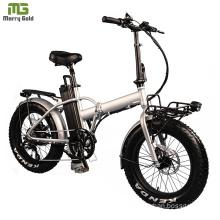 Ce Folding Electric Bike Lithium Battery Powered Electric Fat Folding Bike 20 Inch